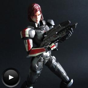 Commander Shepard de Play ArtsKai