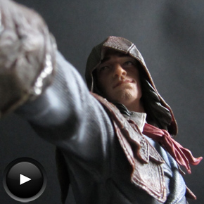 Assassin's Creed Unity: Unboxing figura deArno