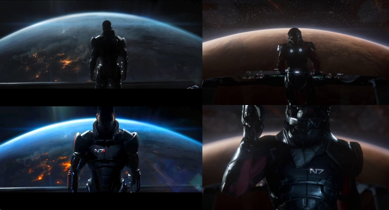 collage Mass Effect Andromeda