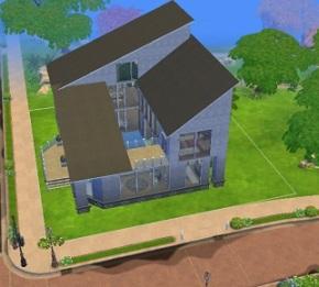 Construyendo en Los Sims 4: CurvaCalma