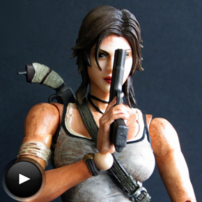 Tomb Raider. Lara Croft de Play Arts Kai