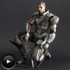 Commander Shepard de Play Arts Kai