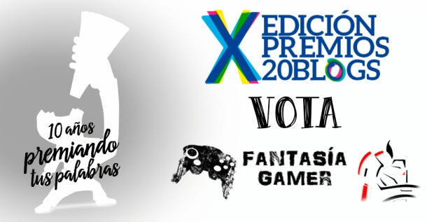 Fantasía Gamer Premios 20 Blogs
