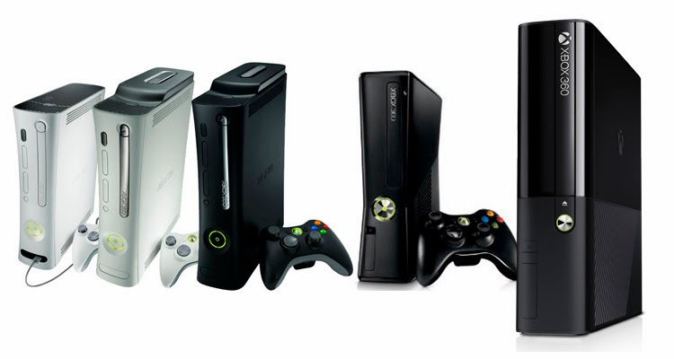 Evolución Xbox 360