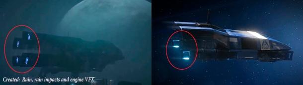 Mass Effect Andromeda. Naves