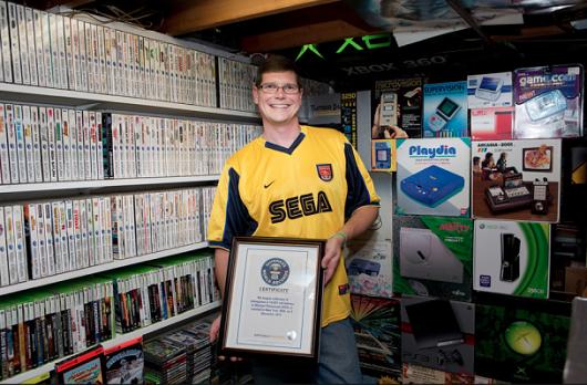 Mayor colección de videojuegos Michael Thomasson