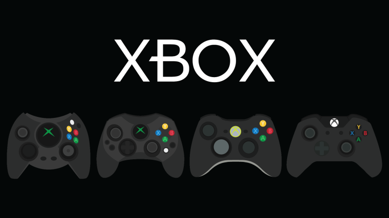 Xbox Gamepad Evolution