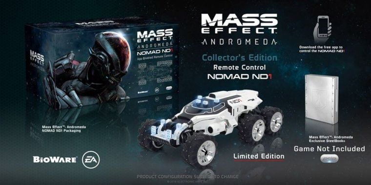 Mass Effect Andromeda Nomad Collector's Edition