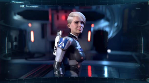 Mass Effect Cora Harper