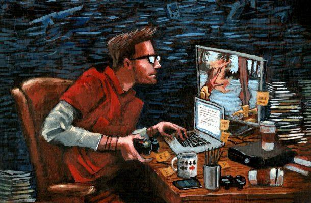 Videogame Journalist