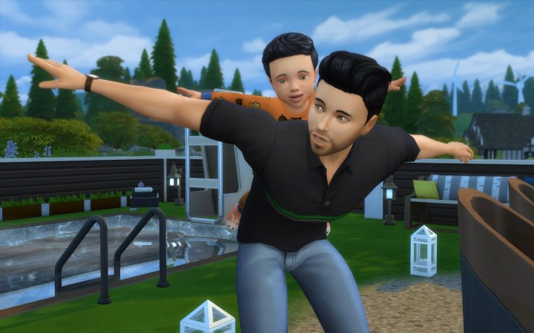 Sims 4 infante