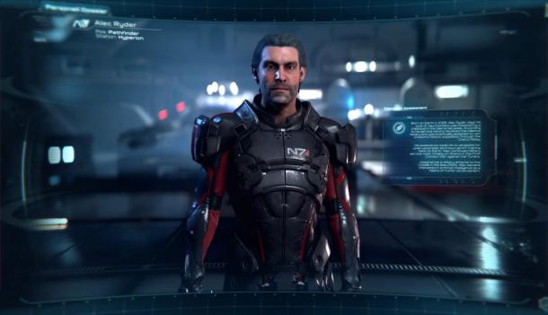 Mass Effect Alec Ryder