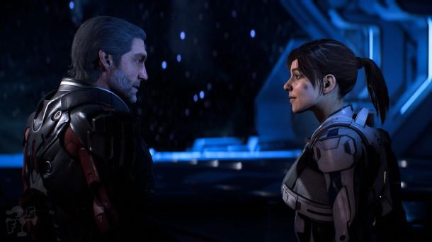 Mass Effect Andromeda Alec y Sara Ryder