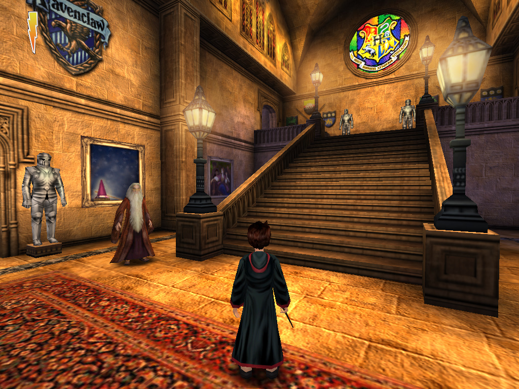 El Mundo Virtual De Harry Potter Y La Piedra Filosofal Fantasia Gamer