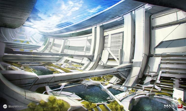 Ciudadela - Presidium Concept Art